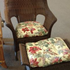 Outdoor Chairs With Ottomans Leather Recliner Melbourne Wicker Chair Ottoman Delmarva Furniture Consignment