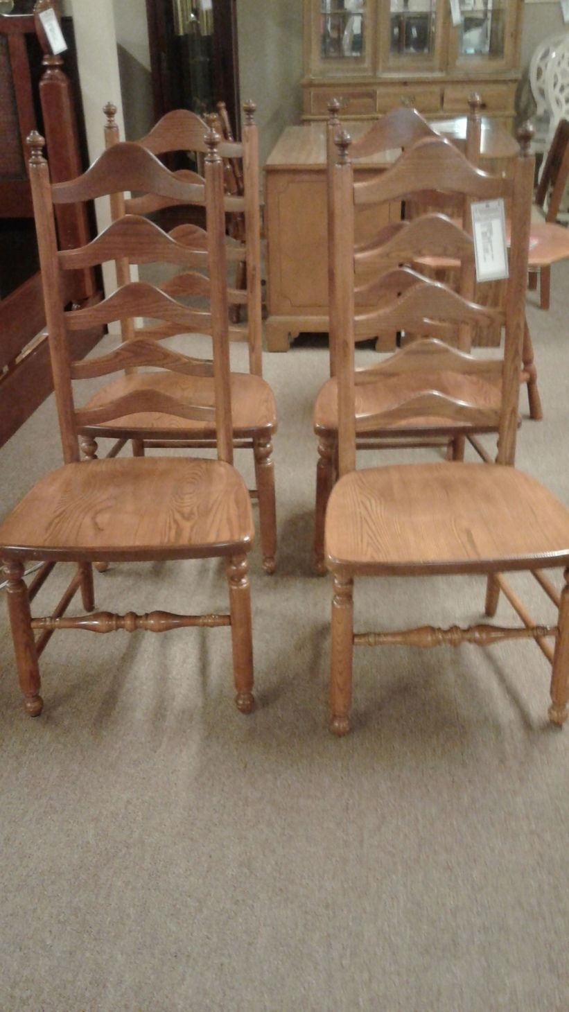 S BENTBROS LADDERBACK CHAIRS  Delmarva Furniture Consignment