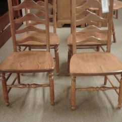 Ladder Back Dining Chairs Living Room Chair Sets S Bent&bros Ladderback | Delmarva Furniture Consignment