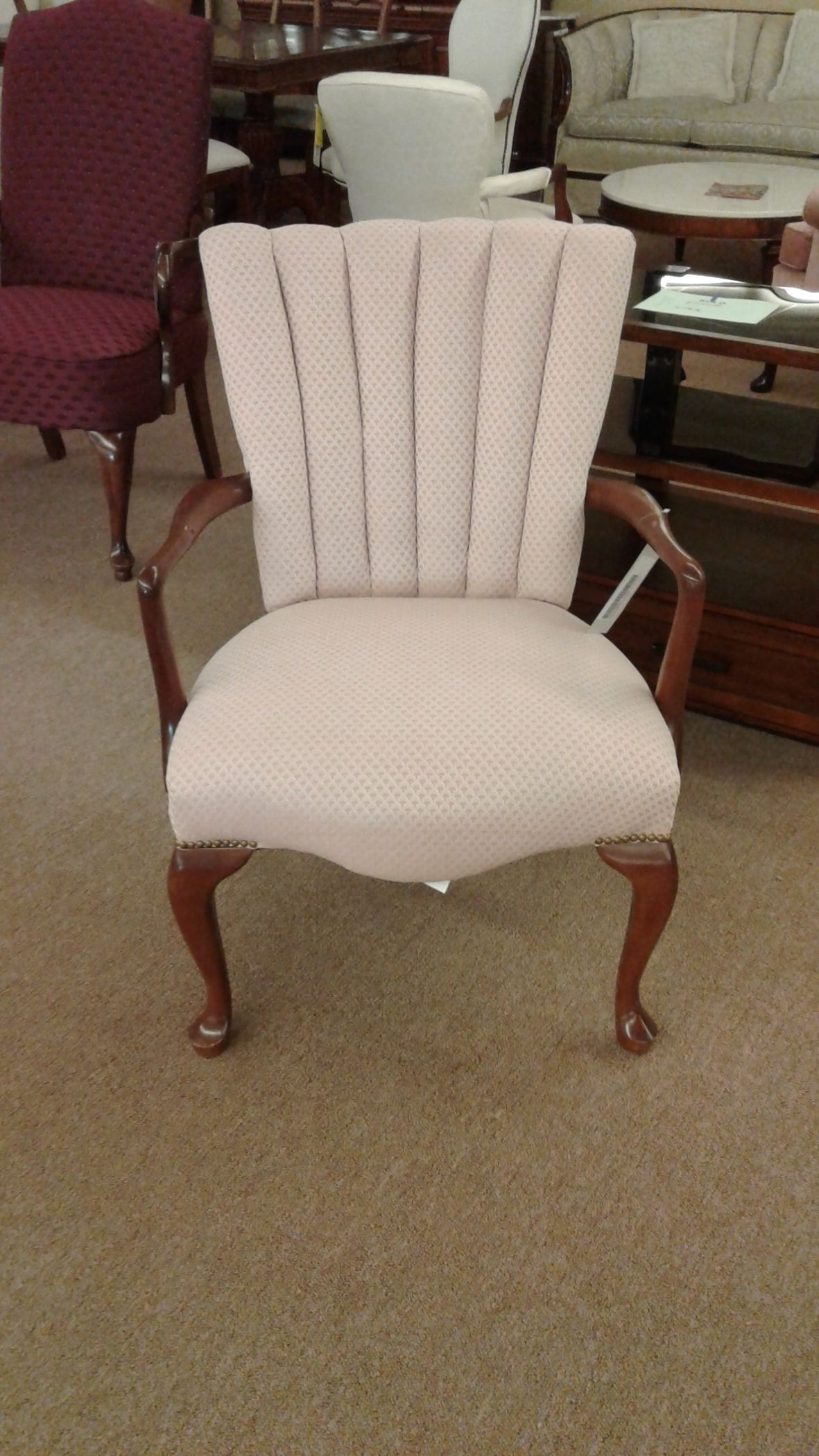 bedroom chair pink casters for desk chairs delmarva furniture consignment