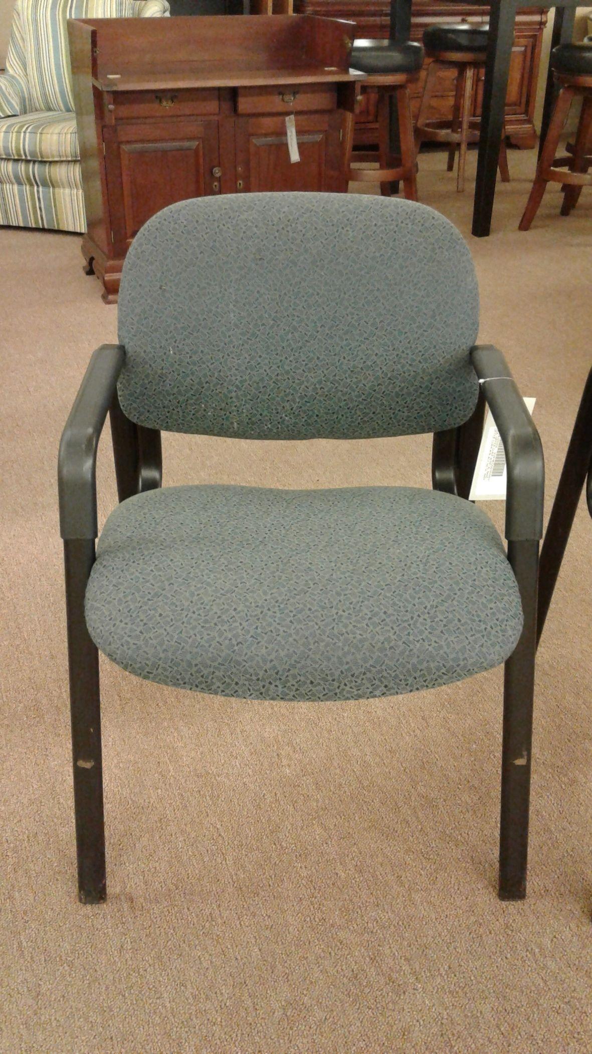 teal office chair alice in wonderland w metal base delmarva furniture