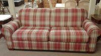 LAZYBOY PLAID SOFA   Delmarva Furniture Consignment