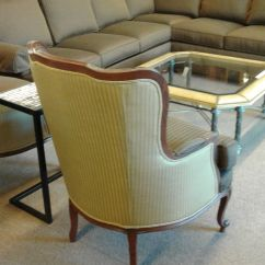 Ethan Allen Wingback Chairs Folding Picnic Tesco Wing Back Chair Delmarva Furniture Consignment