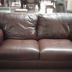 Lane Leather Sofa And Loveseat Storage Box 2 Seat Bed Delmarva Furniture Consignment