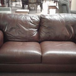 Lane Leather Sofa At Sam S Sectional With Corner Table Wedge Delmarva Furniture Consignment