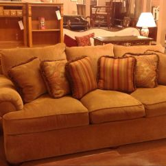 Thomasville Reclining Sofa Can I Use Steam To Clean Leather Gold Delmarva Furniture Consignment