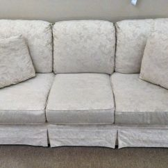 Broyhill Floral Sofa Sectional Slipcovers Target Cream Damask Delmarva Furniture Consignment
