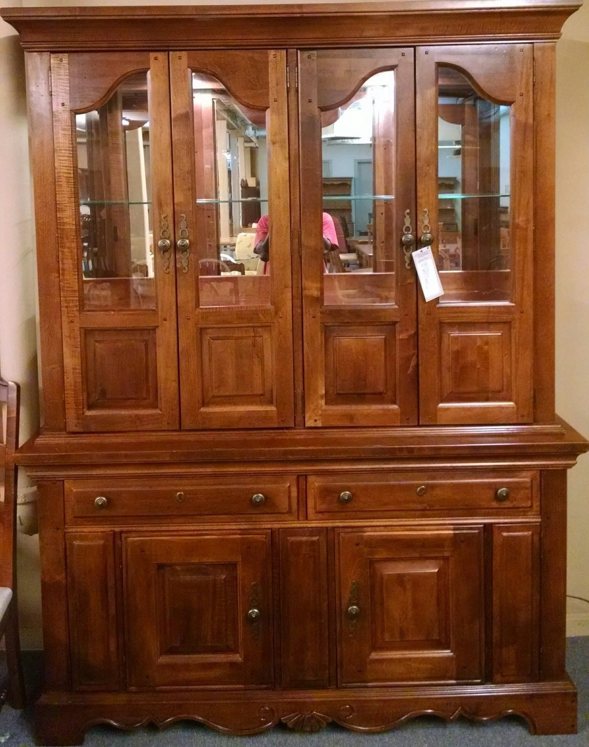 BROYHILL CHINA HUTCH Delmarva Furniture Consignment