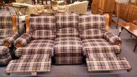 BERKLINE COUNTRY PLAID SOFA | Delmarva Furniture Consignment