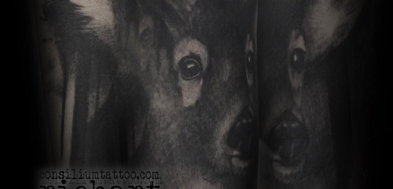 Consilium Tattoo Ciervo Venado Cervidos Tattoo Richart Moreno