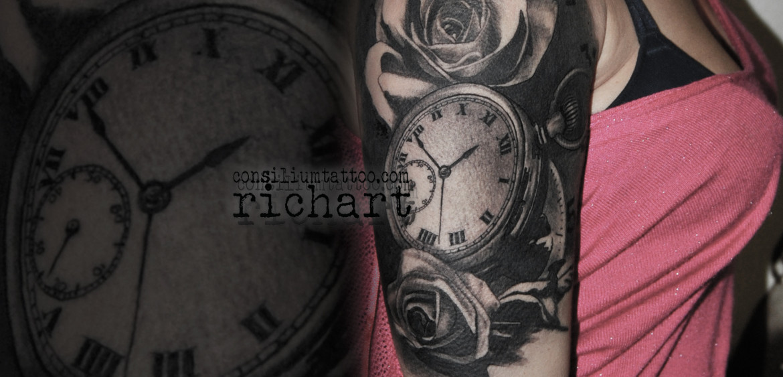 Consilium Tattoo Tatuajes Relojes