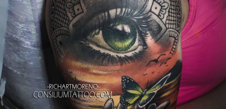 Consilium Tattoo Ojos
