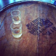 Bourbon tasting at Wild Turkey Distillery