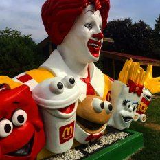Vintage McDonald's Sculpture