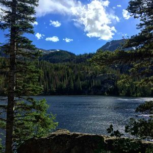 Bear Lake in the Rocky Mountain National Park