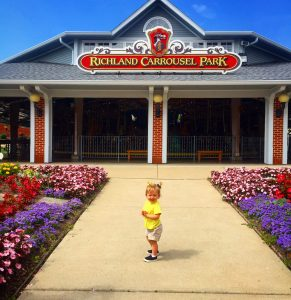 Richland Carrousel Park in Mansfield Ohio