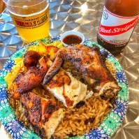 Jerk Chicken at Reggae Bar and Grill in Carmel, IN