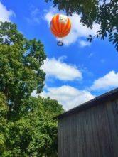 Balloon at Conner Prairie. Hamilton County, Indiana