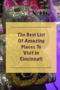 Cincinnati Places To Visit