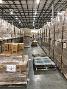 Warehouse at Nehemiah Manufacturing