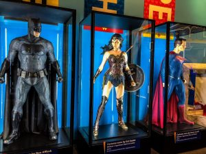 Super heroes exhibit at the Indy Children's Museum
