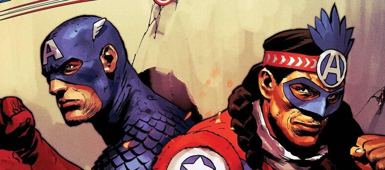 Captain America of the Kickapoo Tribe Debuts in 'United States of Captain America' #3 This August