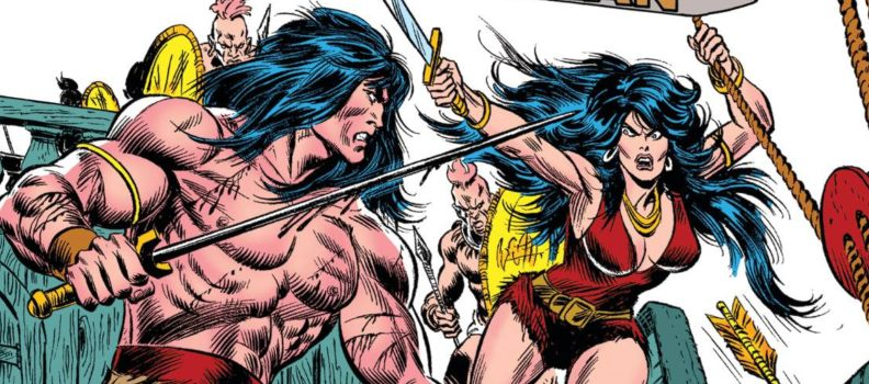 Bêlit Takes Center Stage in 'Conan the Barbarian: Queen of the Black Coast' Epic Collection