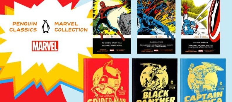 Penguin Classics to Collaborate with Marvel on 'Penguin Classics Marvel Collection'