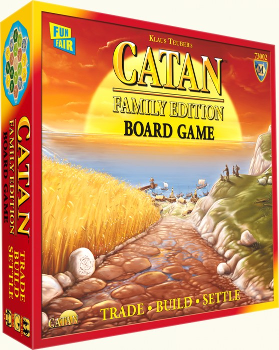 Catan juego familiar