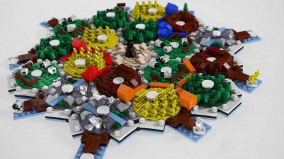 Catan de Lego