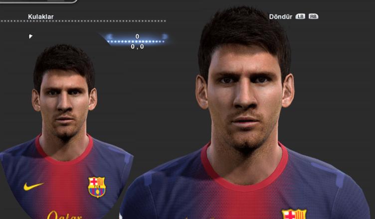 Leo Messi PES 2013