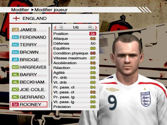 Rooney PES 2009