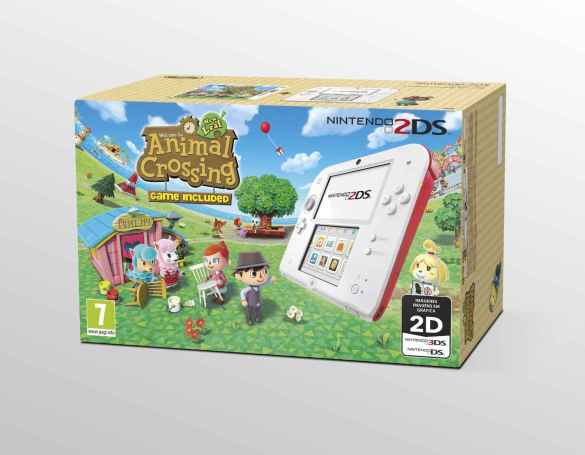 Pack 2DS Animal Crossing