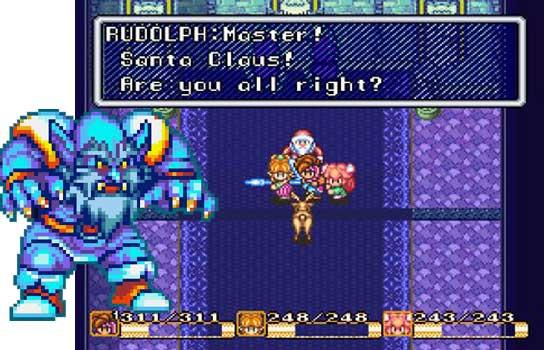 Papá Noel en Secret of Mana