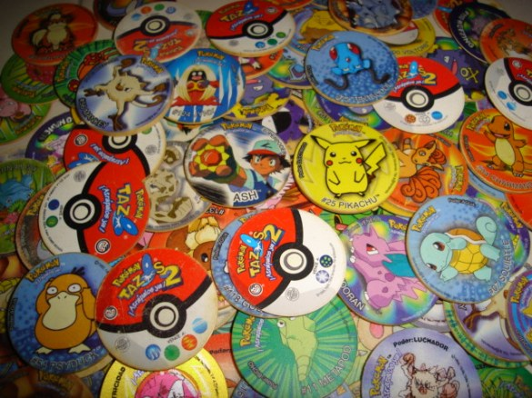 Tazos Pokémon