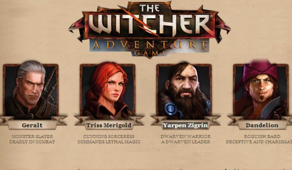 Personajes The Witcher Juego de Tablero