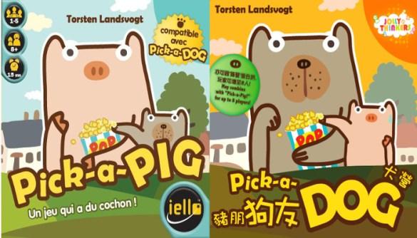 Pick-a-Pig Pick-a-Dog