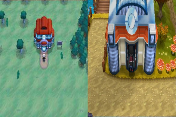 Centro Pokemon quinta y sexta generacion