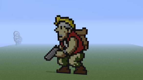 Minecraft Metal Slug