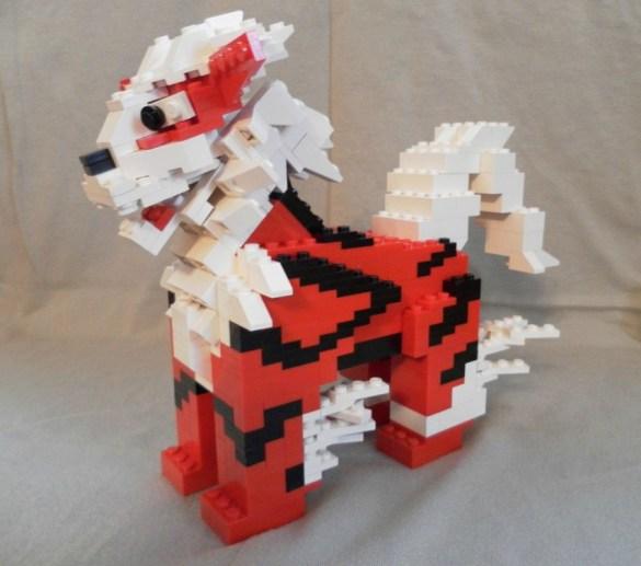 Arcanine LEGO