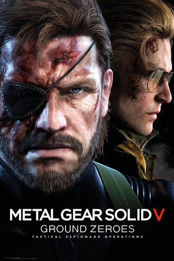 Poster Metal Gear Solid V Ground Zeroes