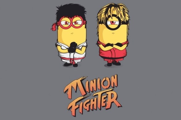 Minion Street Fighter