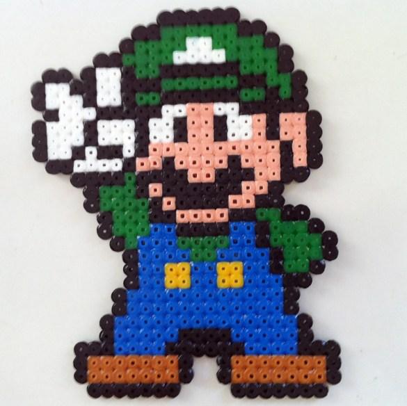Hama Beads Luigi