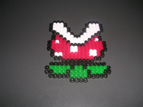 Hama Beads Planta Super Mario