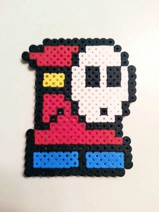 Hama beads Shy Guy