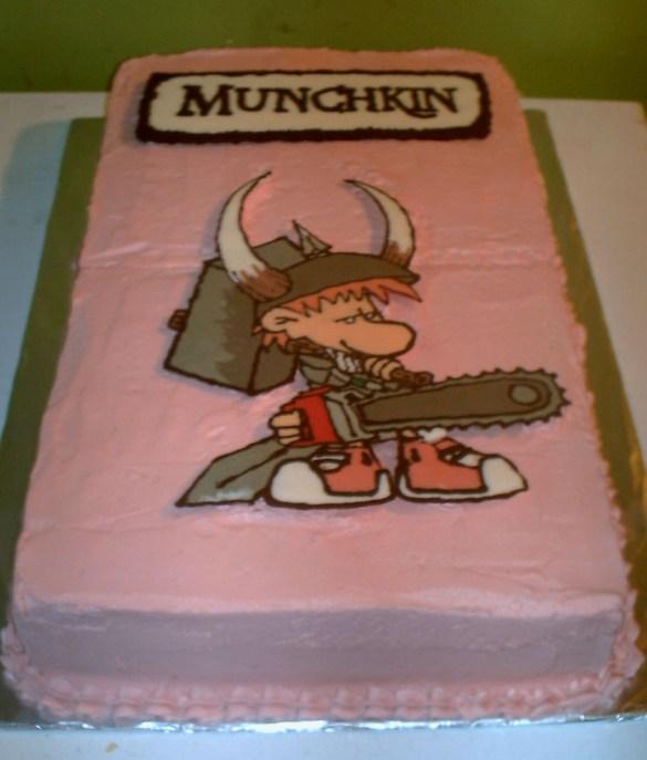 Tarta de Munchkin