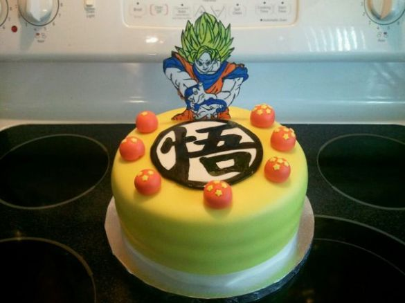 Tarta Dragon Ball