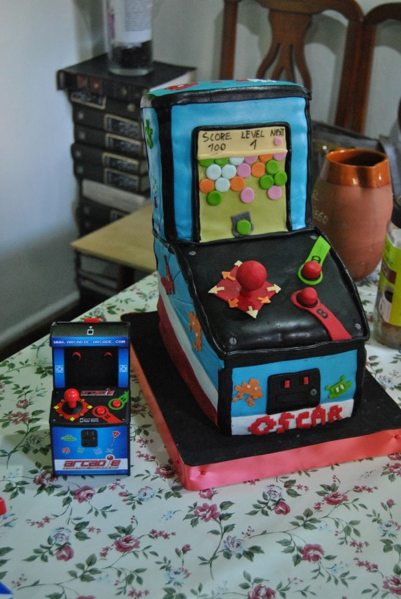 Tarta Maquina Recreativa