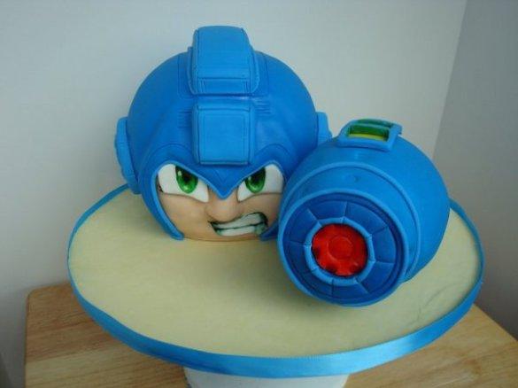 Tarta Mega Man