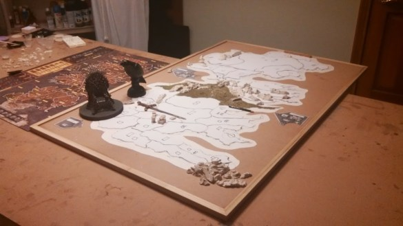 3D Juego de Tronos El Juego de Tablero